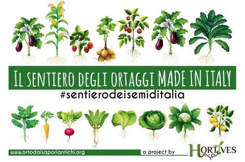 Hortives in tour per raccogliere e riscoprire i semi degli ortaggi italiani