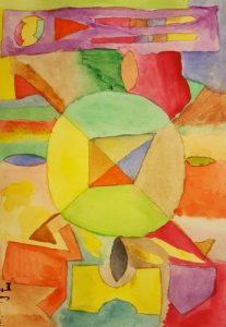 Atelier personale di un'arte-terapeuta: un vivaio di giovani e giovanissimi