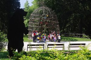 Orti protagonisti a Levico Terme, nel parco storico più grande del Trentino