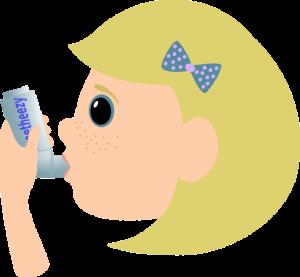 Asma e fanciulli: non è sotto controllo un bambino su due