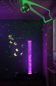 Stanza delle farfalle: luogo multisensoriale per bambini con disabilità